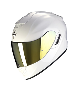 SCORPION EXO 1400 SOLID BLANCO PERLA