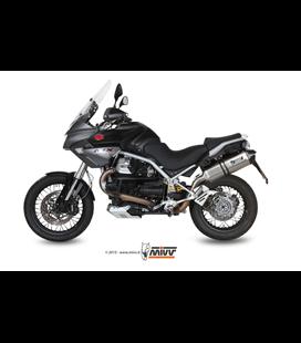 MOTO GUZZI STELVIO 2008 - 2016 SPEED EDGE INOX COPA CARBONO MIVV