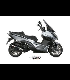 KYMCO XCITING 400I 2013 - 2018 OVAL BLACK COPA CARBONO MIVV