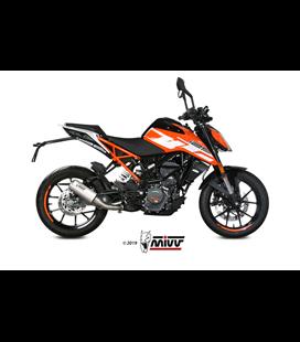 KTM 125 DUKE 2017 - MK3 INOX/ST. STEEL MIVV
