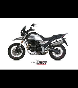 MOTO GUZZI V85 TT 2019 - SPEED EDGE INOX COPA CARBONO MIVV