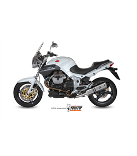 MOTO GUZZI BREVA 1100 2005 - 2011 SPEED EDGE INOX COPA CARBONO MIVV