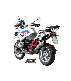 BMW R 1200 GS (2010 - 2012) - ADVENTURE SILENCIADOR OVAL TITANIO SC PROJECT