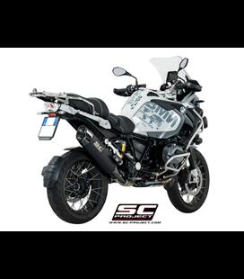 BMWR 1200 GS (2017 - 2018) - ADVENTURE SILENCIADOR ADVENTURE TITANIO NEGRO MATE SC PROJECT