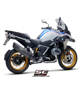 BMWR 1250 GS (2019 - 2020) - ADVENTURE - EURO 4 SILENCIADOR ADVENTURE TITANIO GRIS MATE SC PROJECT