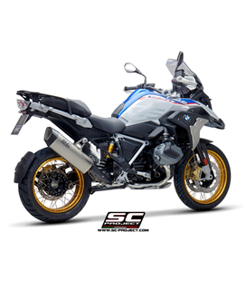 BMWR 1250 GS (2020 - 2021) - ADVENTURE - EURO 5 SILENCIADOR SC1-R GT TITANIO SC PROJECT