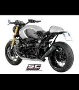 BMWR NINE T (2014 - 2016) SILENCIADOR CONICO 70'S ACERO CEPILLADO SC PROJECT