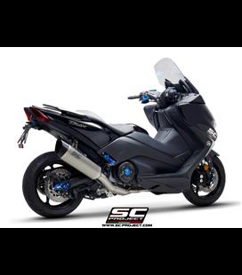 YAMAHATMAX 530 (2017 - 2019) - SX - DX - SX Sport Edition SISTEMA DE ESCAPE COMPLETO 2-1 SILENCIADOR SC1-R TITANIO SC PROJECT
