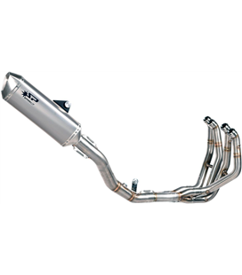 KAWASAKI ZX-6 R 600 2009 - 2016 EXHAUST FULL SYSTEM STAINLESS STEEL FORCE SILENCER