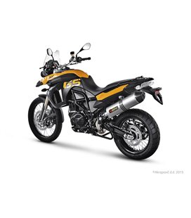 BMW F 800 GS TRIPLE BLACK 2012-2012 AKRAPOVIC