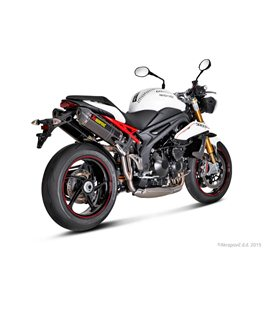 TRIUMPH SPEED TRIPLE 1050 ABS  2011-2015 AKRAPOVIC