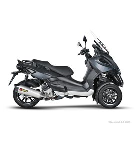 PIAGGIO BEVERLY 500 CRUISER 2007-2012 AKRAPOVIC