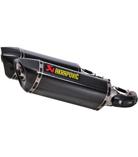 DUCATI MONSTER 1100  2009-2010 AKRAPOVIC