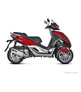 PIAGGIO MP3 300 I.E. YOURBAN 2011-2016 AKRAPOVIC