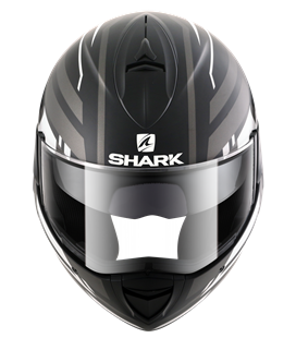SHARK EVOLINE 3 CORVUS NEGRO BLANCO ANTRACITA MATE