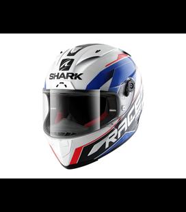 SHARK RACE R PRO SAUER BLANCO AZUL ROJO