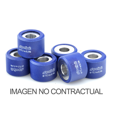 KYMCO X CITING (CARBURACIÓN) 500 4T-H2O (05) RODILLOS POLINI