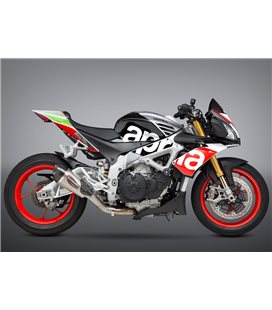APRILIA RSV 4 2017 - 2018 SILENCIOSO STREET SERIES ALPHA T WORKS FINISH
