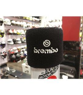 FUNDA PROTECTOR DEPOSITO FRENOS BREMBO BLANCO