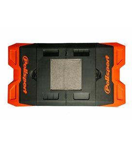 ALFOMBRA PLASTICA DE BOX POLISPORT NARANJA 8982200002