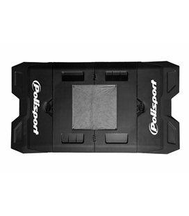 ALFOMBRA PLASTICA DE BOX POLISPORT NEGRO 8982200006