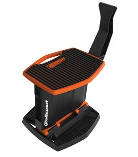 CABALLETE PLEGABLE MOVIL DE PLÁSTICO POLISPORT NARANJA 8982700002