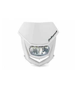 CARETA HALO LED HOMOLOGADA POLISPORT BLANCO 8667100001