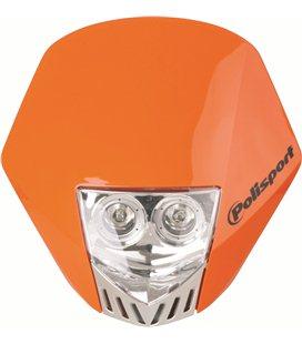 CARETA POLISPORT HMX LED NARANJA 8657100005