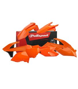 KIT PLÁSTICA COMPLETO POLISPORT KTM COLOR ORIGINAL 90706