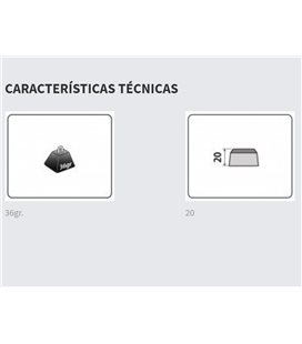 DUCATI MONSTER 821/ STRIPE CONTRAPESOS PUIG CORTOS