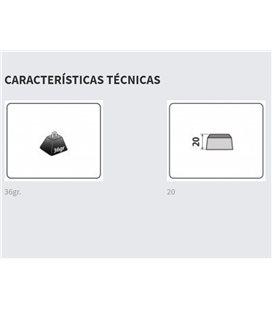 HONDA CBF500 CONTRAPESOS PUIG CORTOS