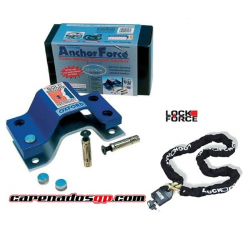 KIT ANCLAJE ANCHOR FORCE + CADENA 1,8m