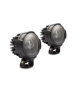 EVO FOG LIGHT KIT BLACK. SUZUKI DL650 V-STROM ,11- / XT ,15-.