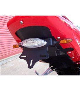 HYOSUNG GT125R/GT250R/GT650 -08 SOPORTE PORTAMATRICULAS R&G