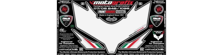 KIT DECORACION DUCATI