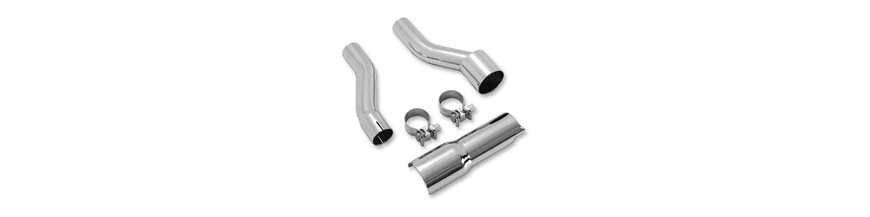 ADAPTER KIT EXHAUST CHROME