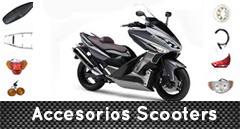 Accesorios Scooters